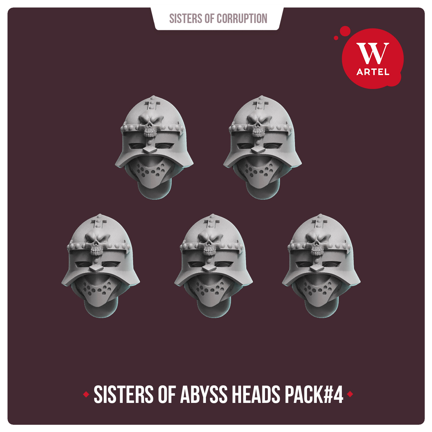 Sisters of Abyss Heads pack#4