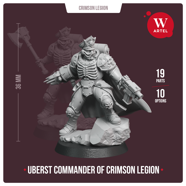 Uberst Commander of Crimson Legion