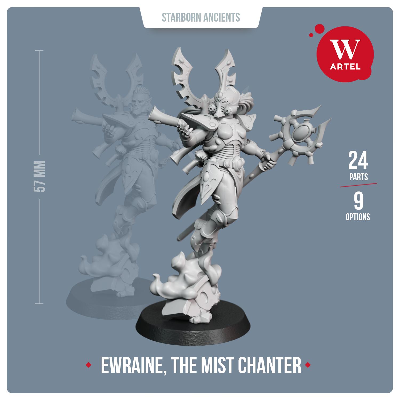 Warchanter Ewraine, The Mist Chanter