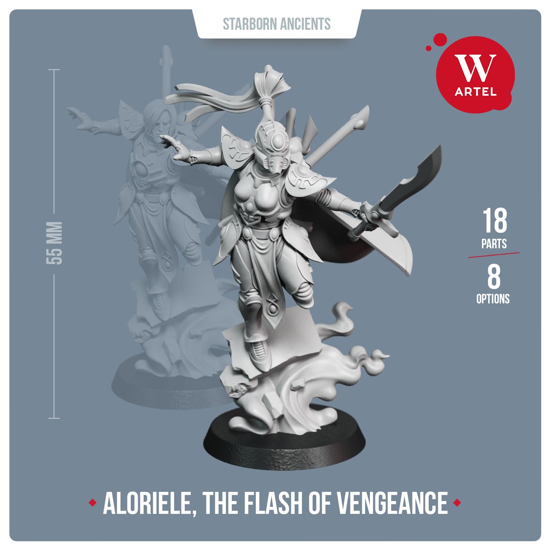Warchanter Aloriele, The Flash of Vengeance