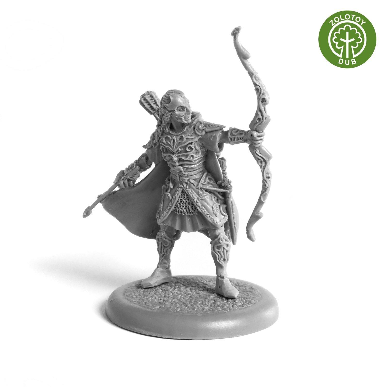 Elven Adventurer - by Zolotoy Dub-