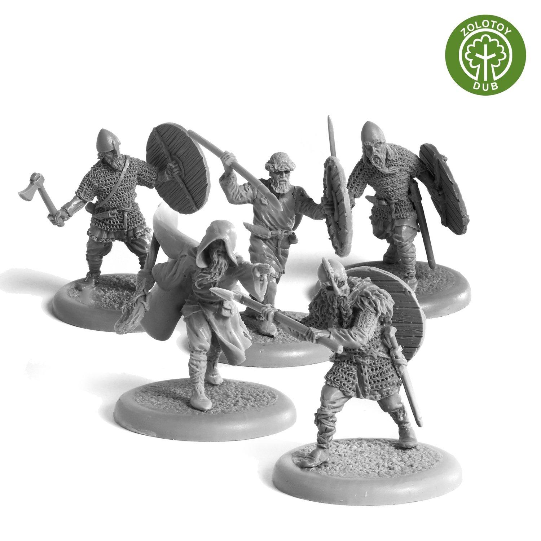 Vikings Hirdmen - by Zolotoy Dub-