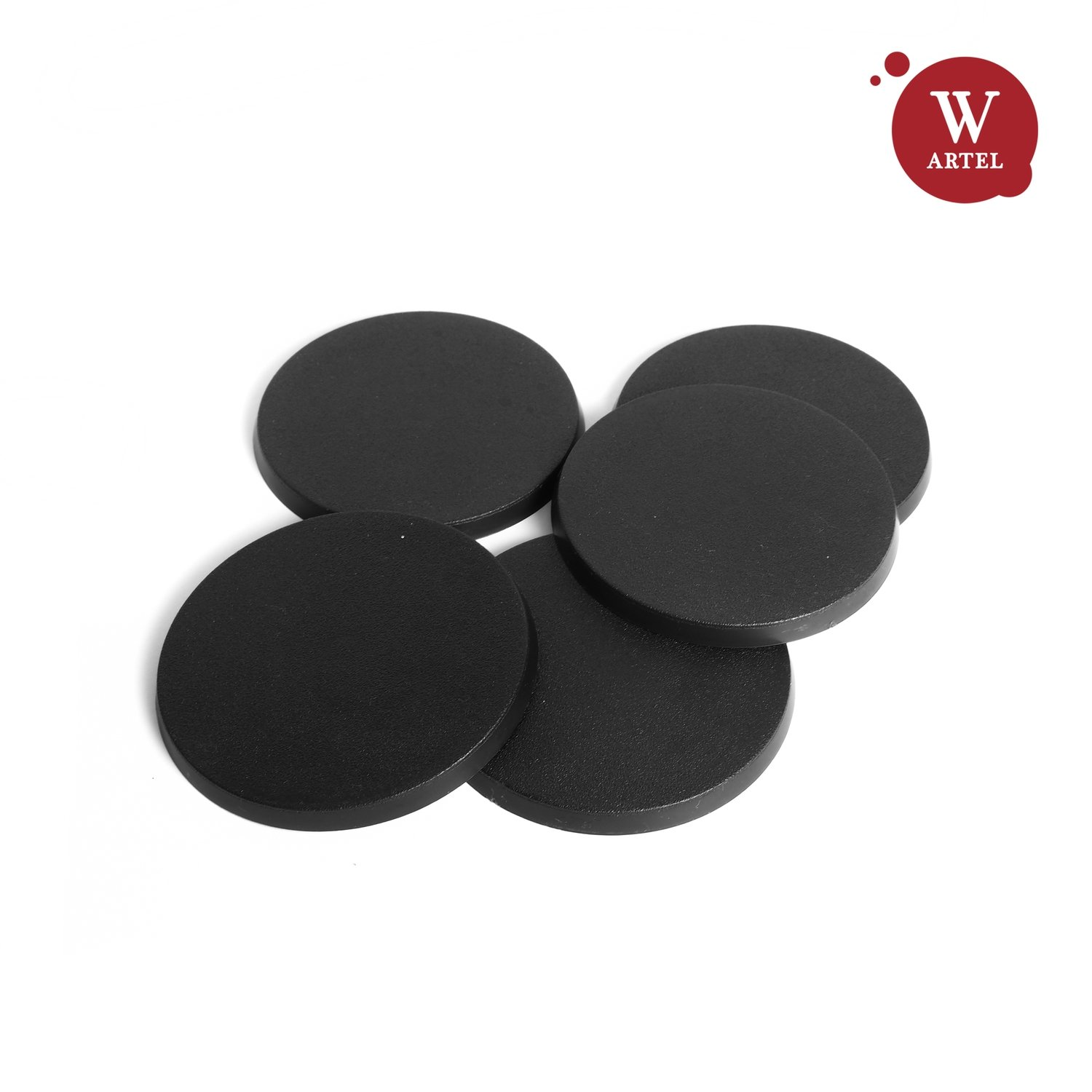 5x60mm round bases for miniatures