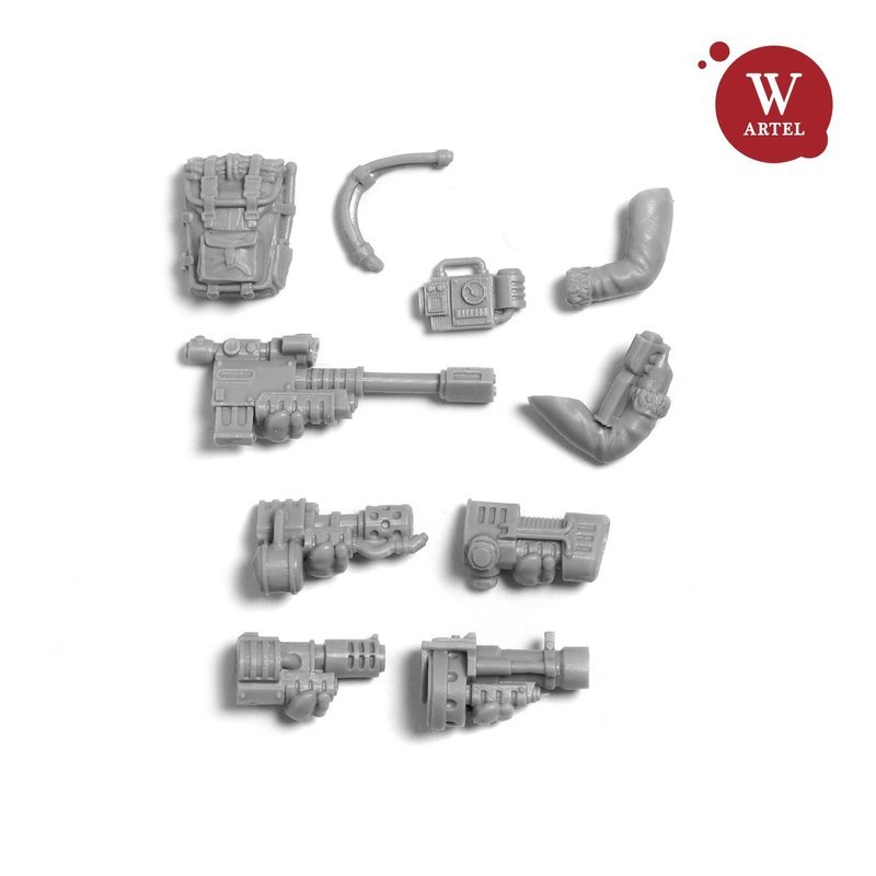 Einherjar`s Special/Heavy weapon conversion kit