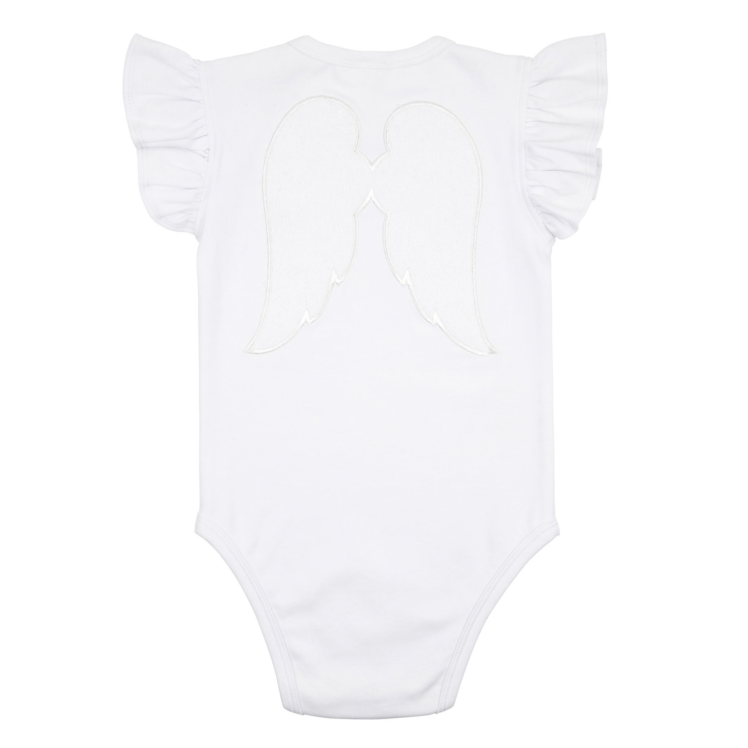 Baby Angel Playsuit White