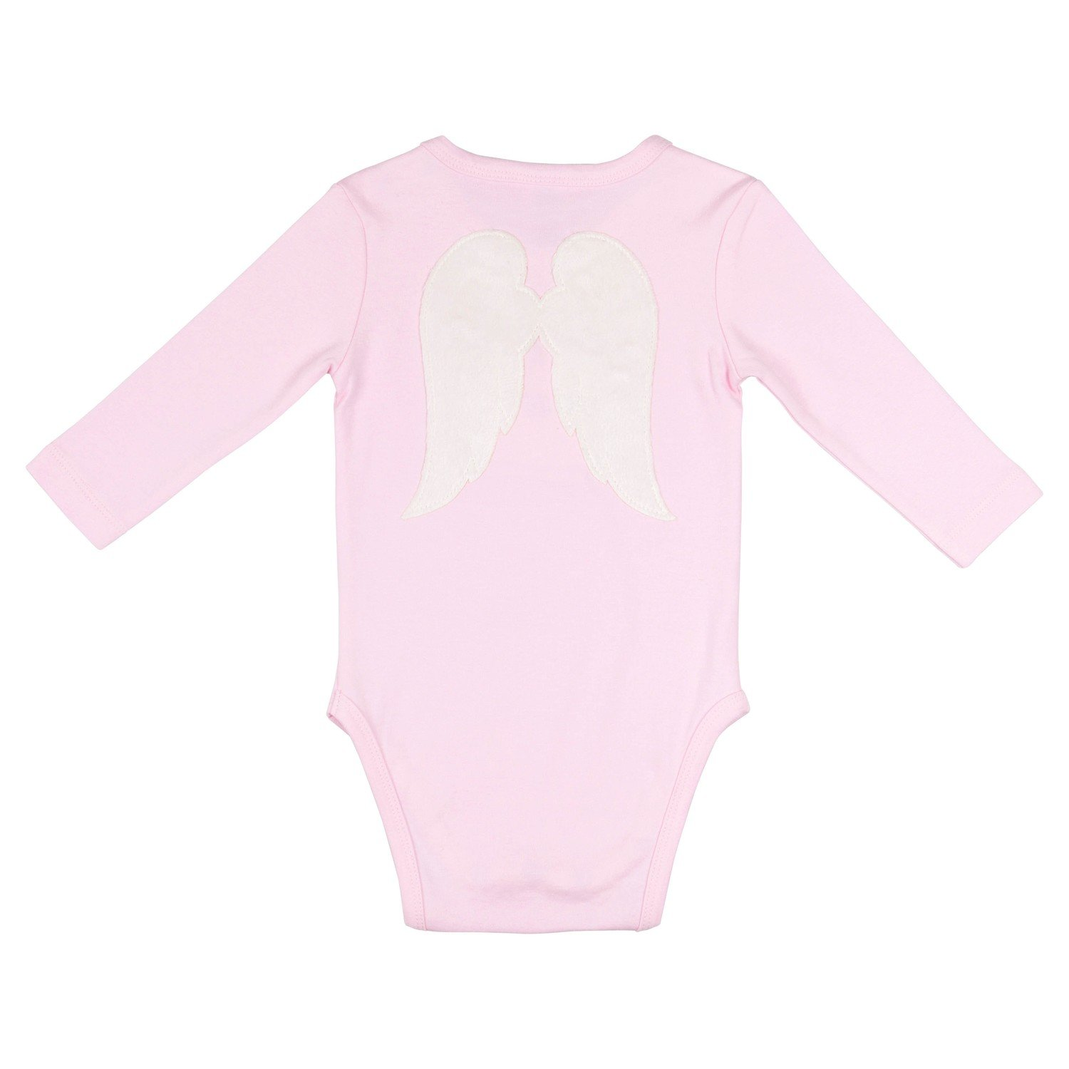 Baby Angel Playsuit Pink