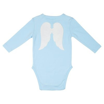 Baby Angel Playsuit Blue