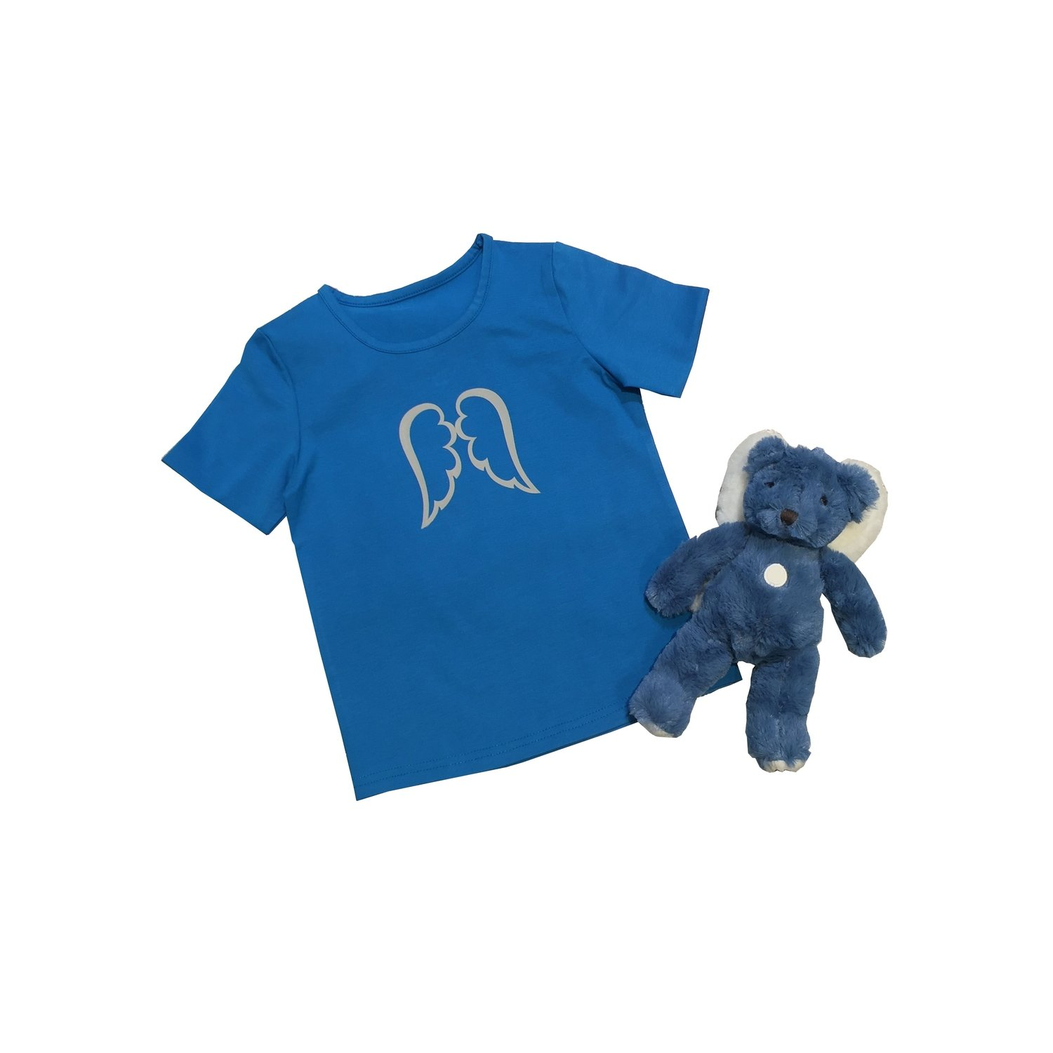 Cobalt Blue Angel Tee