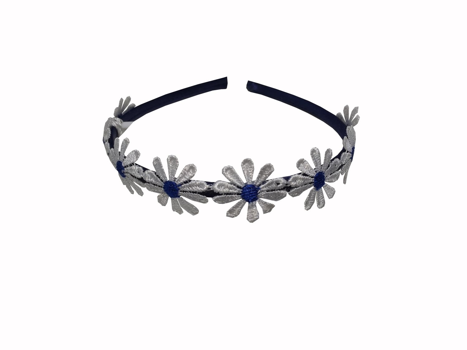 Headband Navy Blue Daisy