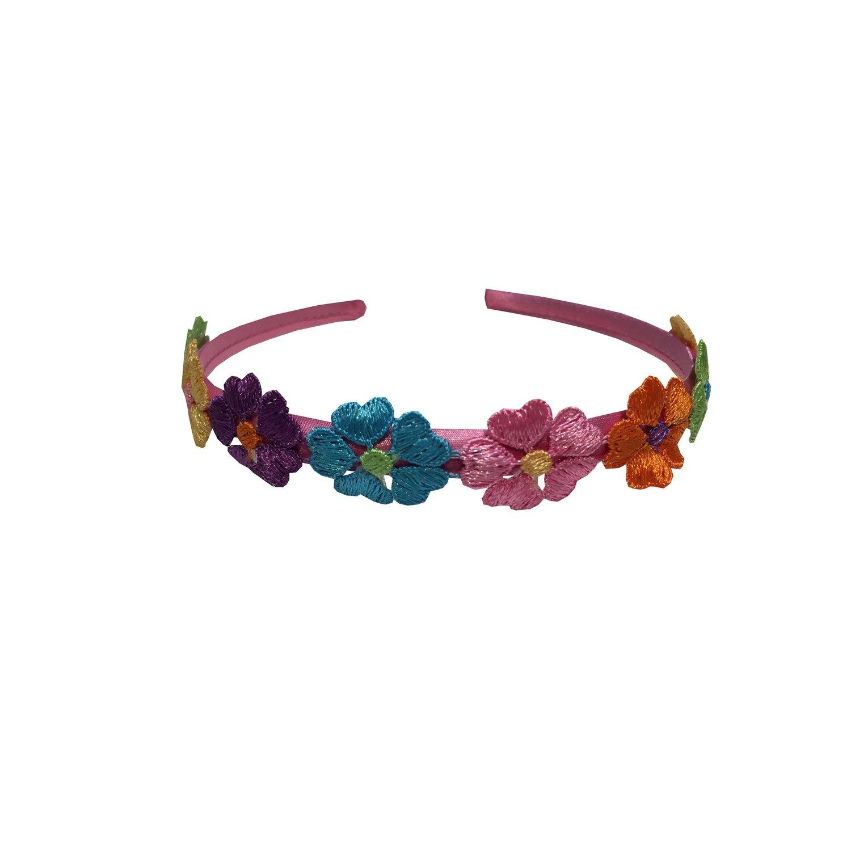 Headband Pink Flowered