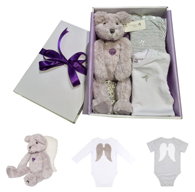 Baby Gift Box Lavender 1