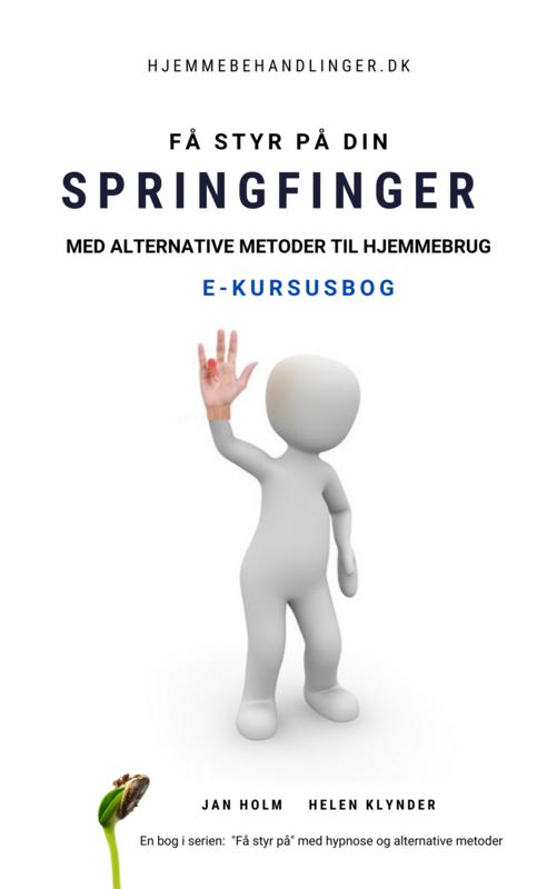 E-kursusbog: Få styr på din springfinger med alternative metoder