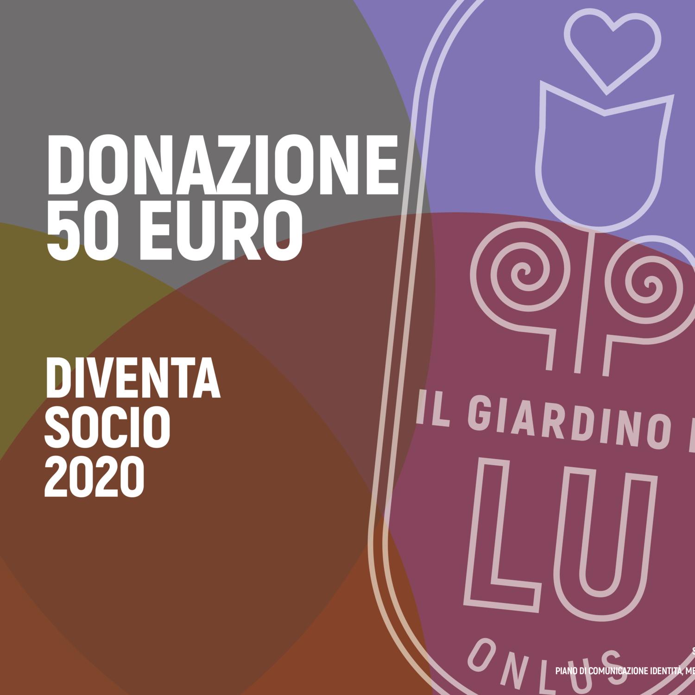 Dona 50 euro e diventa socio special 2020