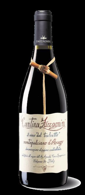 Wijn: Montepulciano d'Abruzzo, 0,75 liter. Zaccagnini, Pescara, Abruzzo