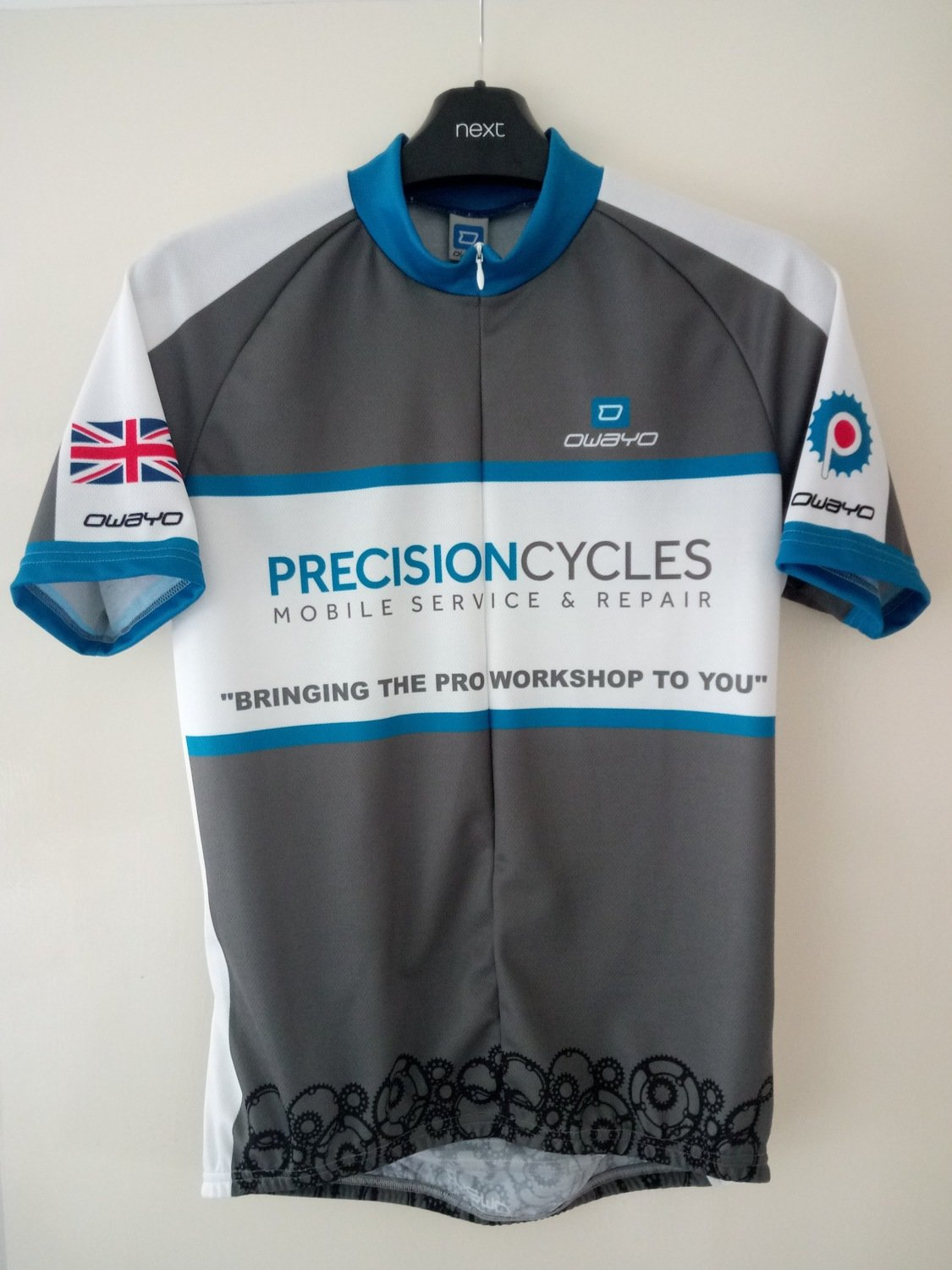 Precision Cycles Jersey