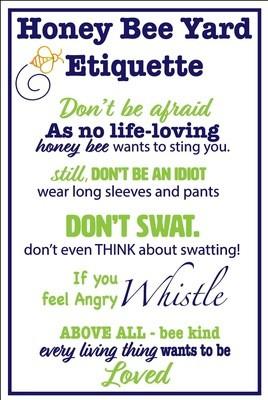 Bee Etiquette