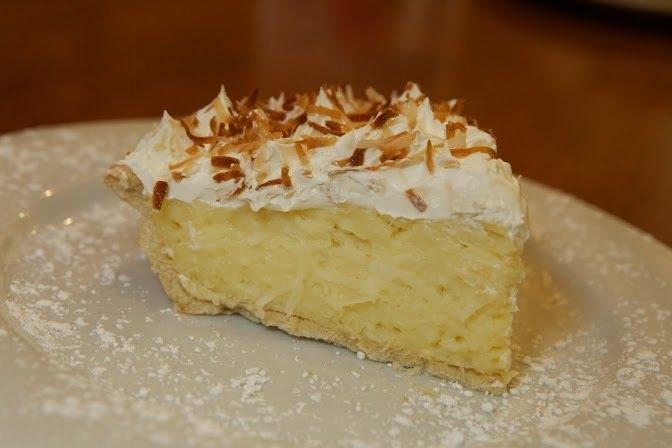 Whole Coconut Cream Pie