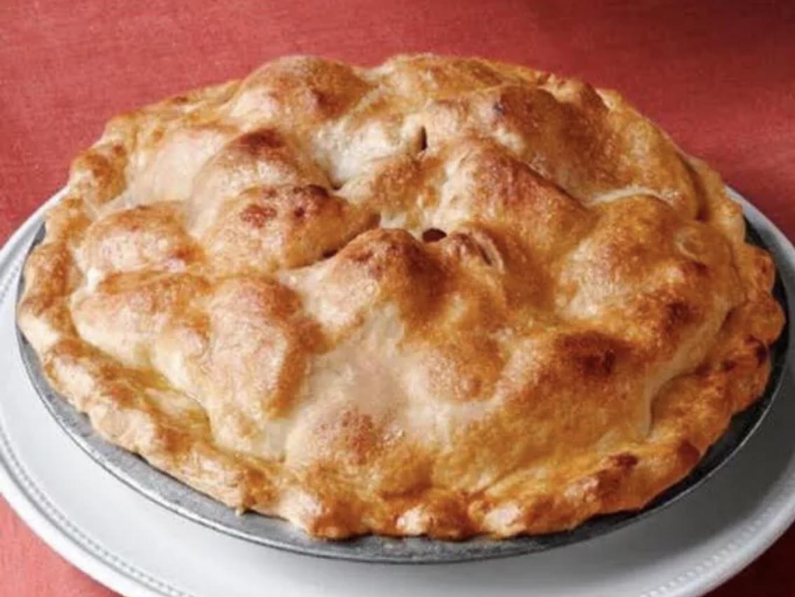 Whole Sugar Free Apple Pie