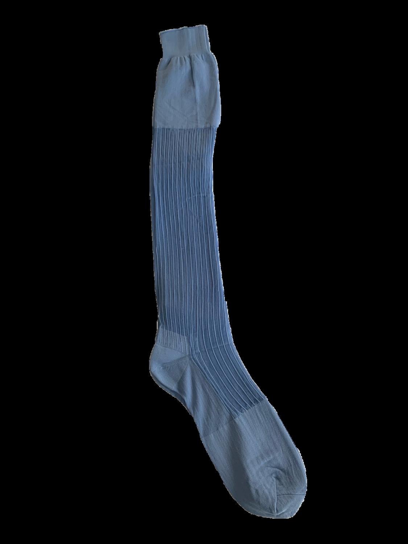 CALZ C- Blue ribbed