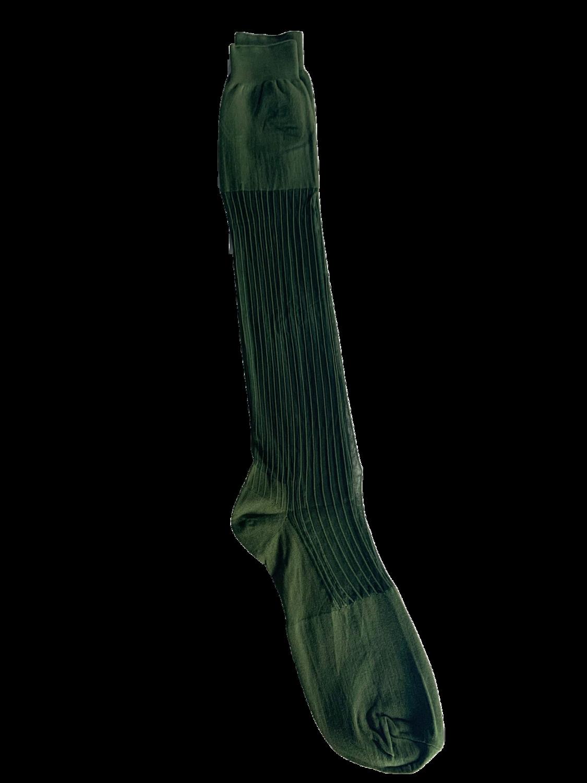 CALZ C- Green ribbed