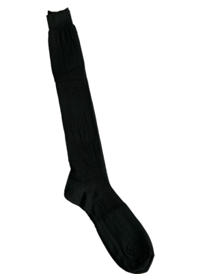 CALZ C- Black ribbed