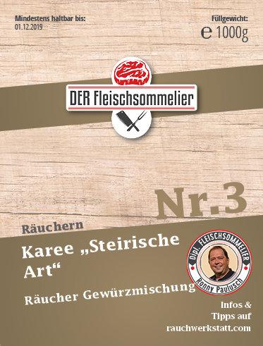 """Räucher- Gewürzmischung """"Steirisches Karree"""""""