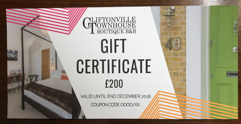 Gift Certificate £200