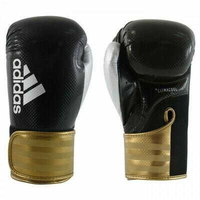(Kick)Bokshandschoenen Adidas Hybrid 75 - Zwart/Goud