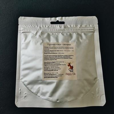 Горохова каша з овочами (упаковка для запарювання)