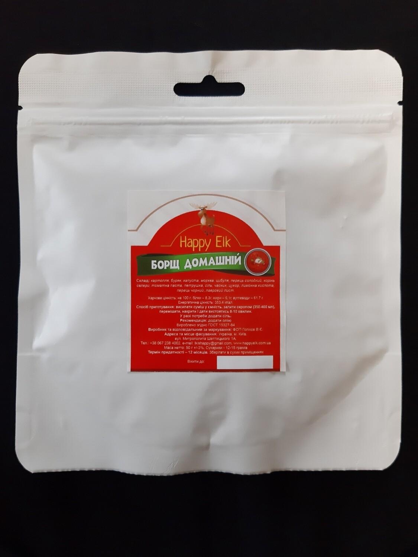 Борщ домашній (упаковка для запарювання)