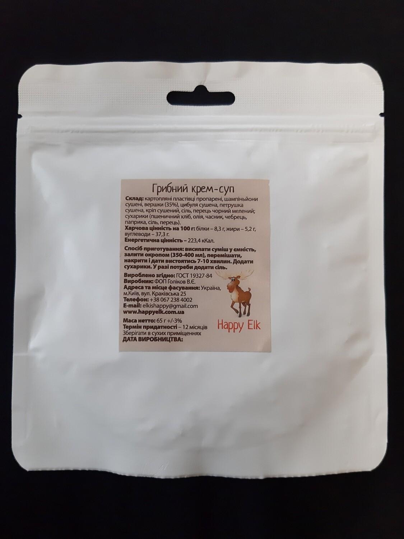 Грибний крем-суп (упаковка для запарювання)