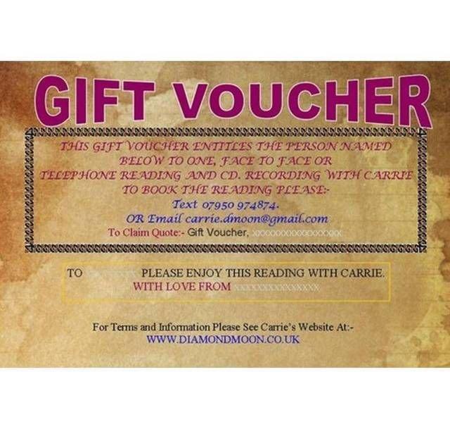 12/12 Reading Gift Voucher