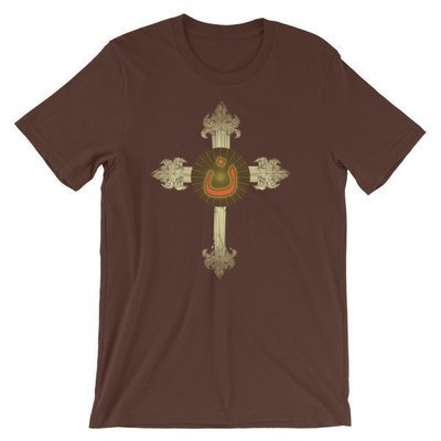 Nazarene Golden Short-Sleeve Unisex T-Shirt