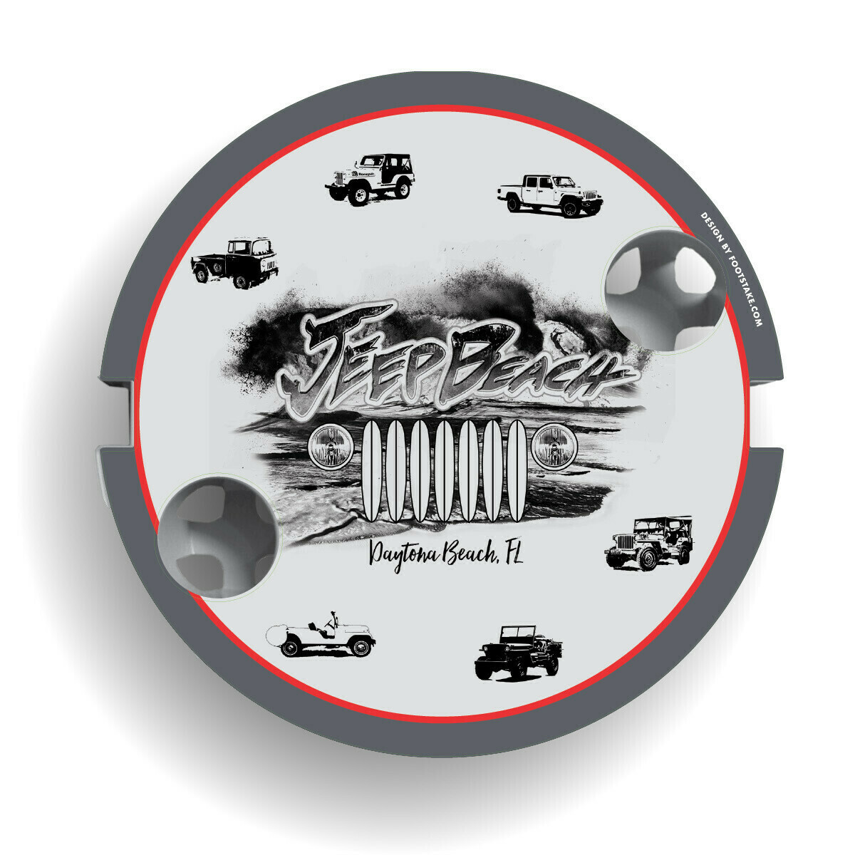2020 Jeep Beach FootStake Table Graphic