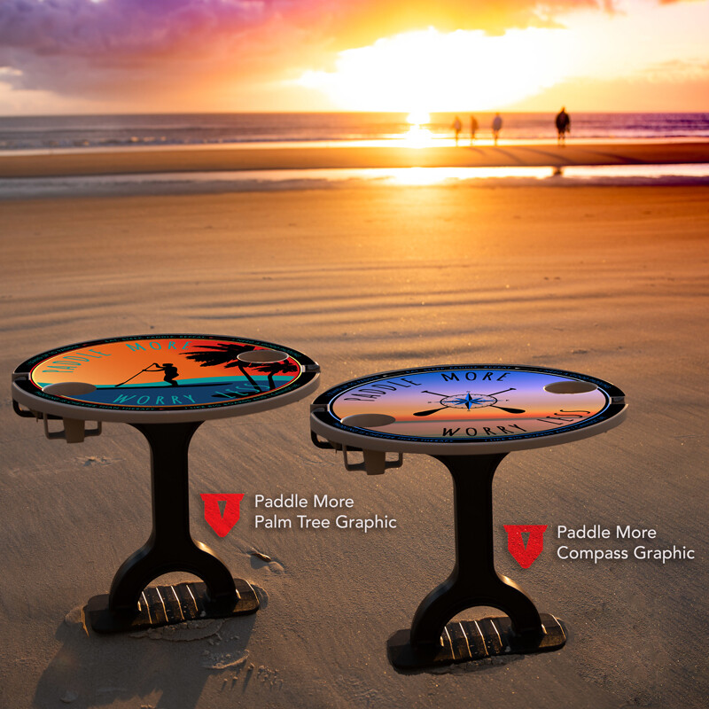 Limited Edition Paddle More Table & FootStake Combo