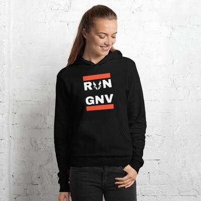 *Run GNV Unisex hoodie
