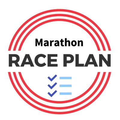 Marathon Detailed Race Plan