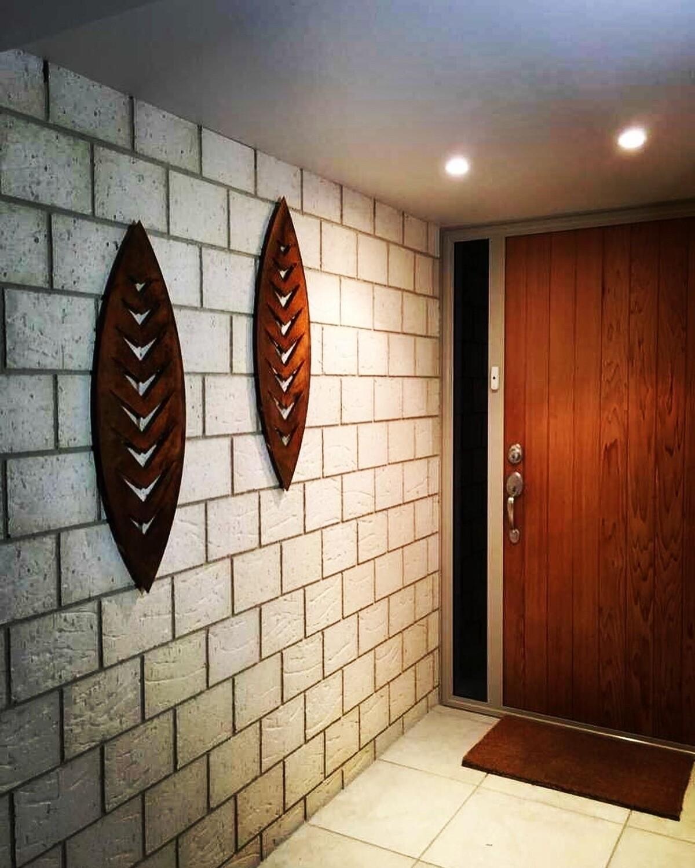 Corten Shield Wall Art