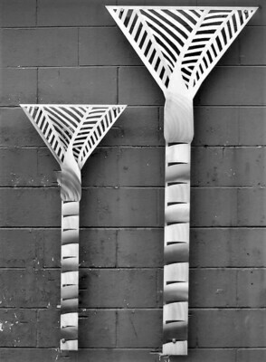 Aluminium Nikau Palm Wall Art