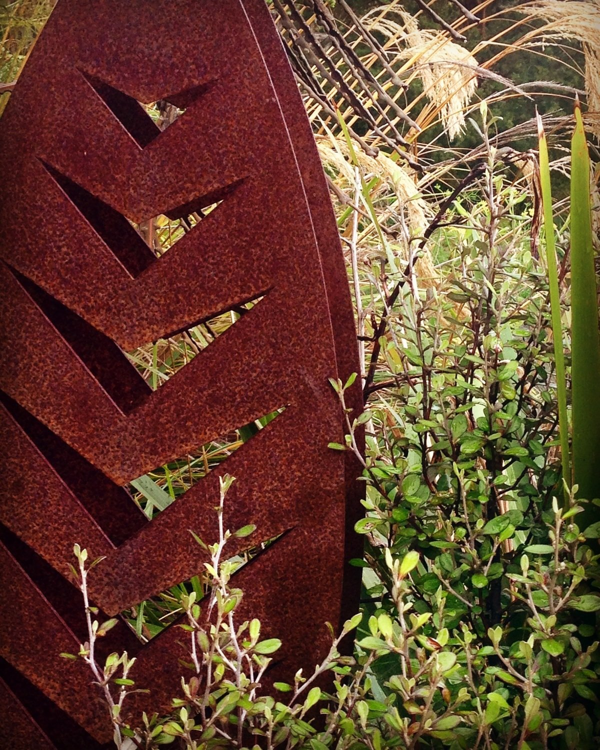 3D Corten Arrow Sculptures