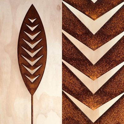 Corten Spear - Arrow