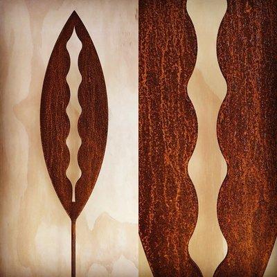 Corten Spear - Kowhai