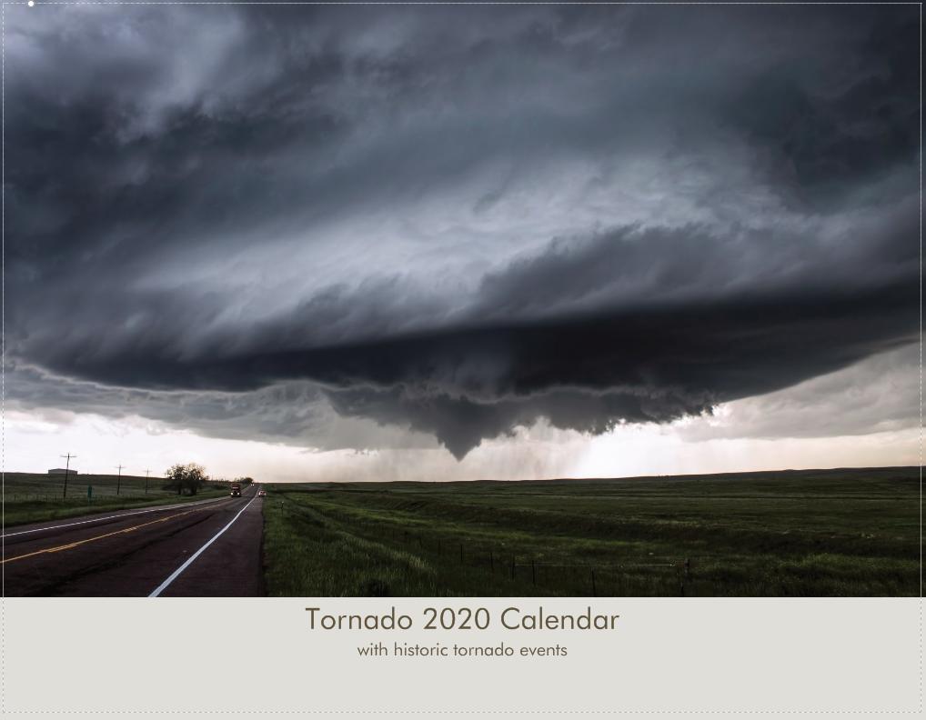 2021 Tornado Calendar *PRE-ORDERS ONLY*