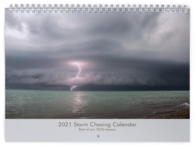Storm Chasing Calendar 2021