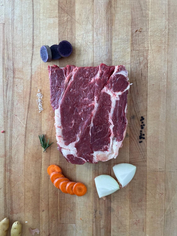 3-4 lb. Bone In Beef Chuck Roast (Approx. $20)
