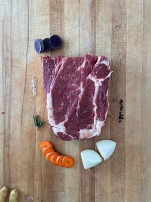 3-4 lb. Bone In Beef Chuck Roast (Approx. $24)