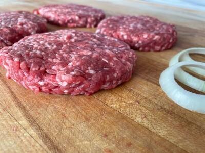 (4) Hamburger Patties (Approx. $10.50/pkg.)