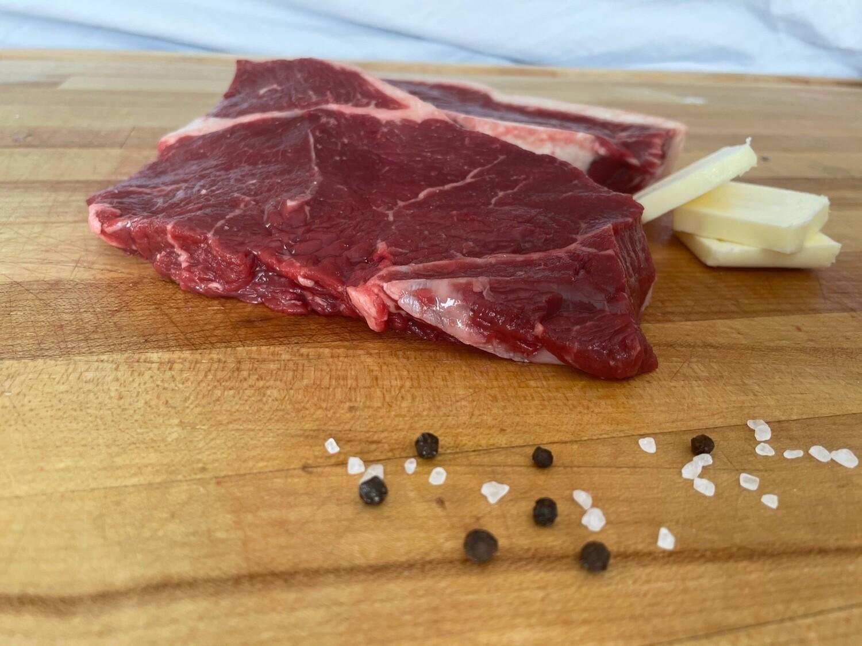(2) Beef Sirloin Steak (Approx. $10/pkg)