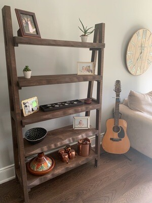 Ladder shelf 5 tiers