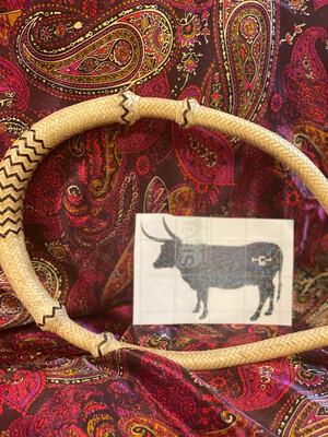 Long Horn Decal